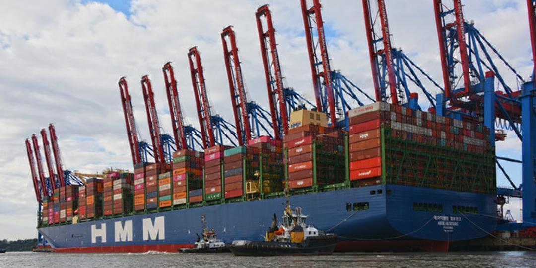 Historic call for 23 964-TEU megaship   Freight News